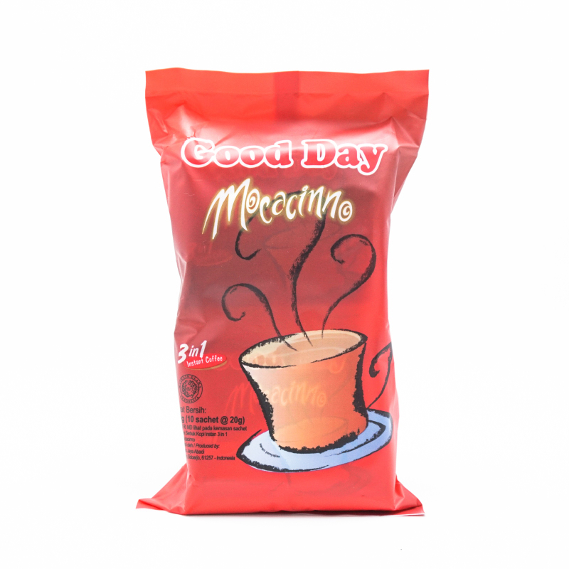 Good Day Mocacinno Bag 10x20g