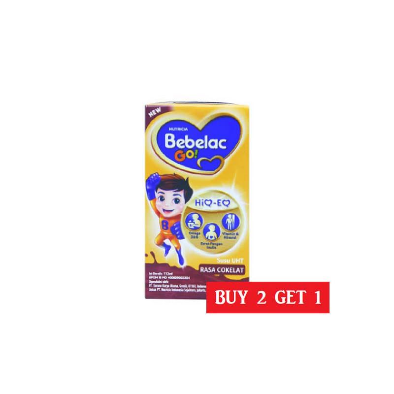 Bebelac Go Uht Cokelat 112 Ml (Buy 2 Get 1)