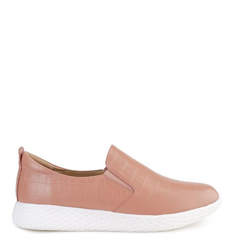 Andrew Ladies Hannah Sneakers Peach