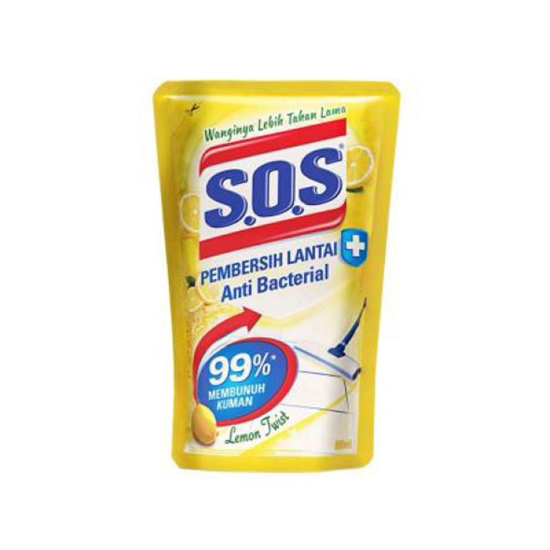 S.O.S Pembersih Lantai Lemon 700 Ml