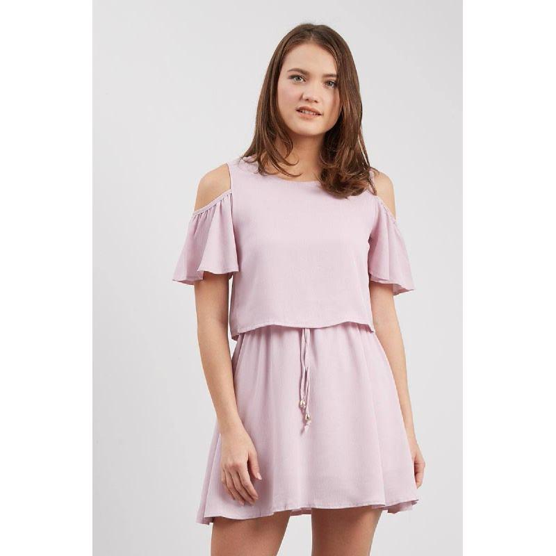 Francois Oppen Dress in Pink