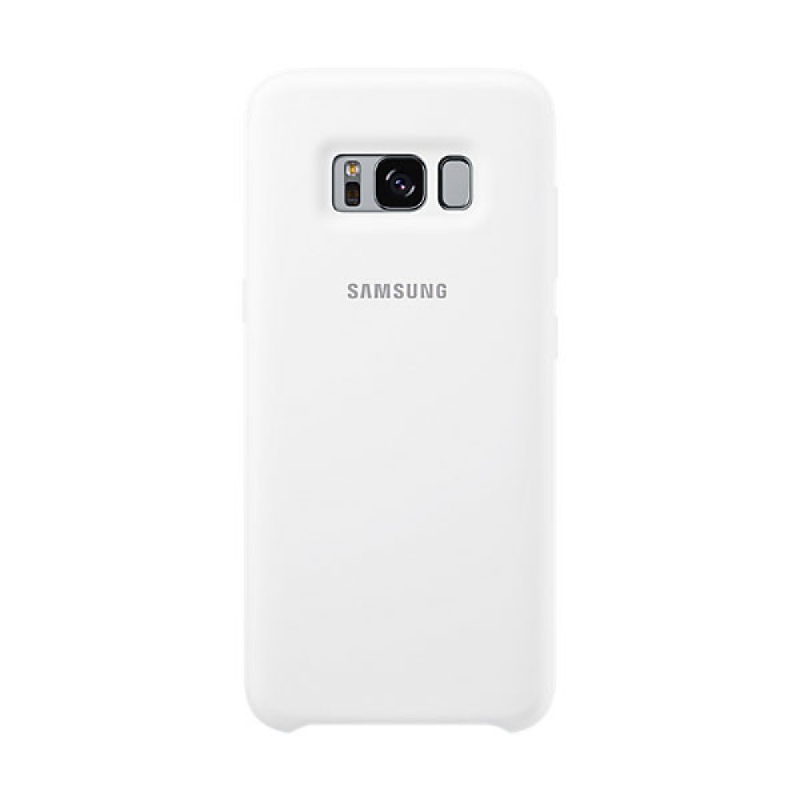Samsung Silicone Cover For Galaxy S8 - Putih