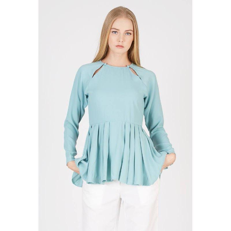 Oza Raglan Sleeve Blue
