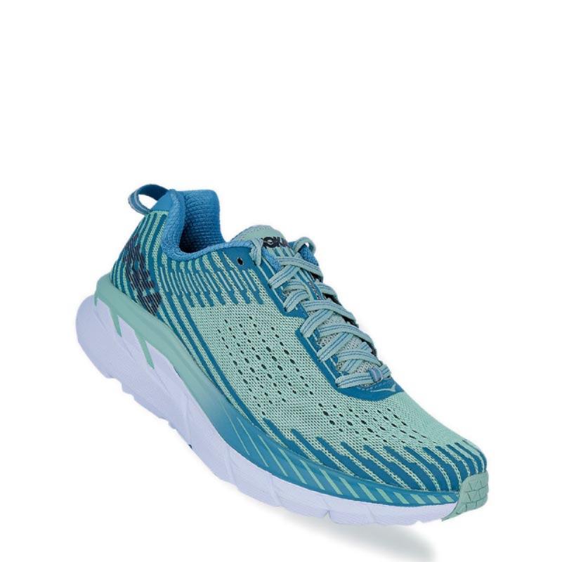 Hoka One One Clifton 5 Women Running Shoes blue