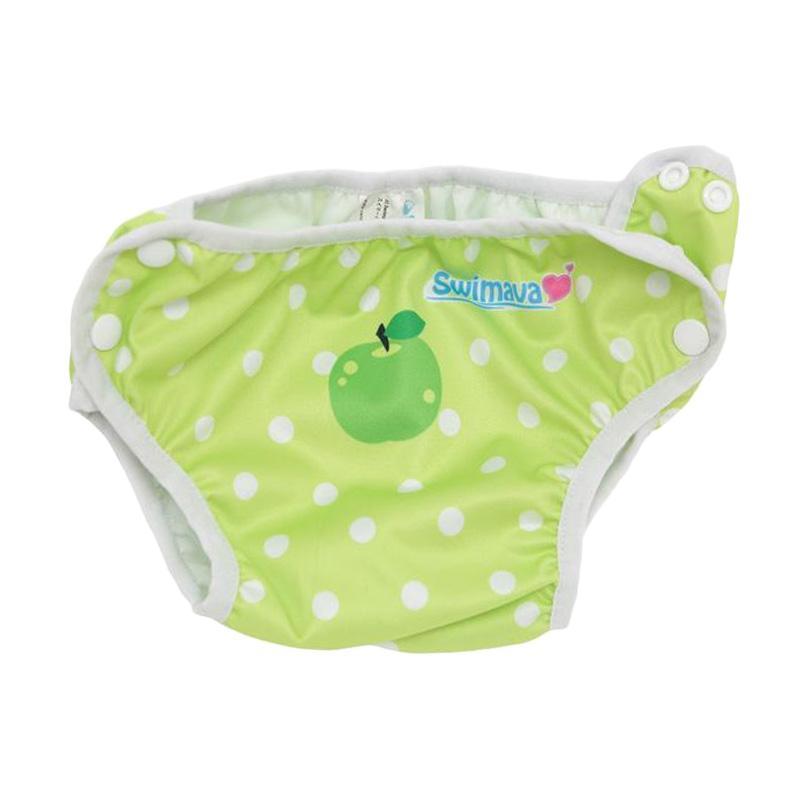 Swimava SWM414 Green Apple Swimming Diaper