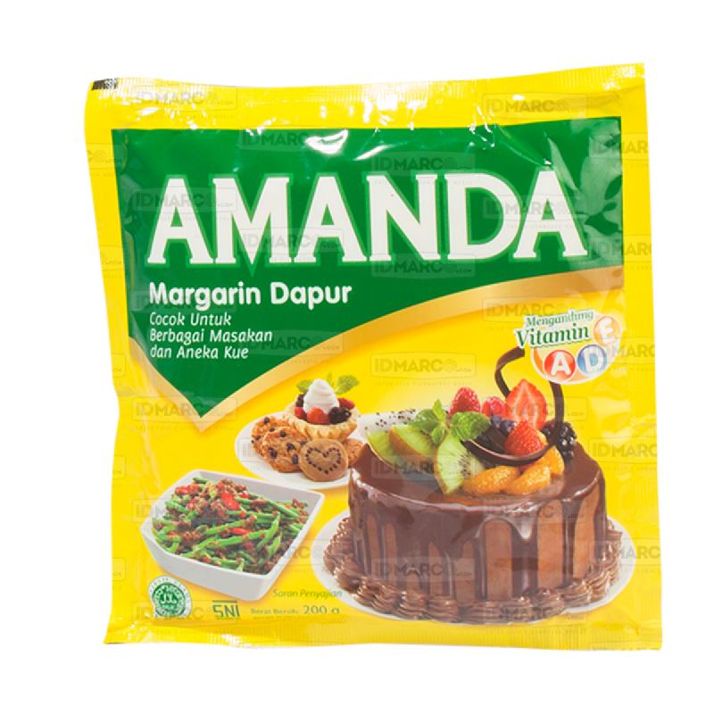 Amanda Margarin Dapur Sachet 200 gr