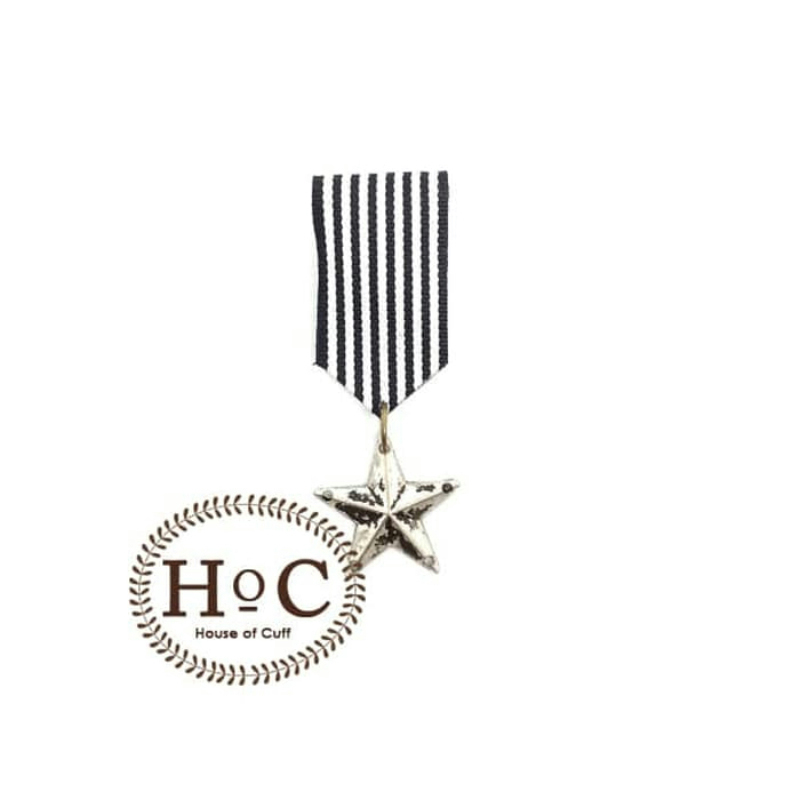 House Of Cuff Ribbon Flag Enamel Brooch Pin X05 Pin Brooch Jas Lapel Pin