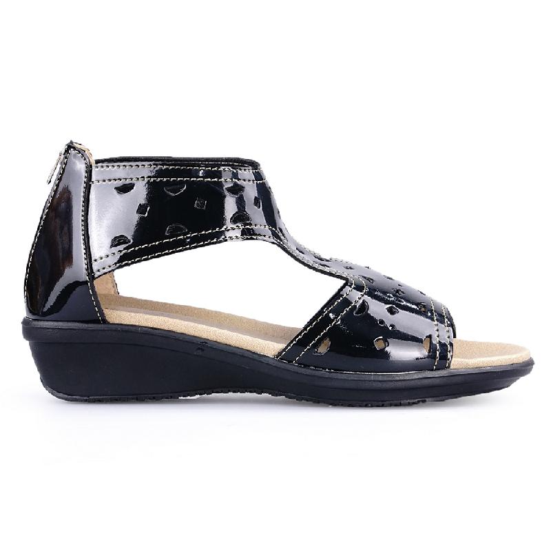 Ghirardelli Sandals Cheyanne Black