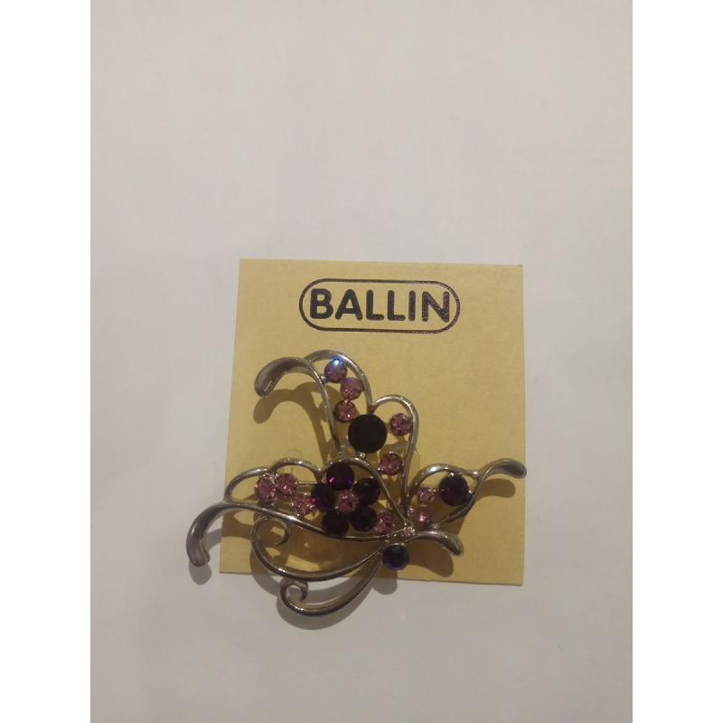 Ballin Women Brooch CB-BR29-03143SU Silver