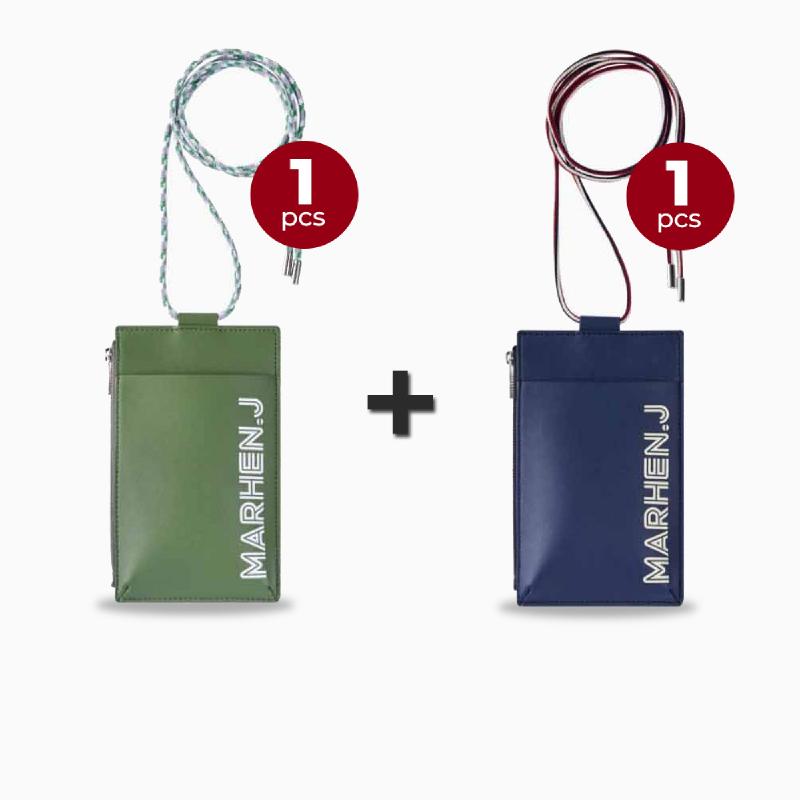 Marhen J Lolly Bag Season 4 - Pine Green + Navy