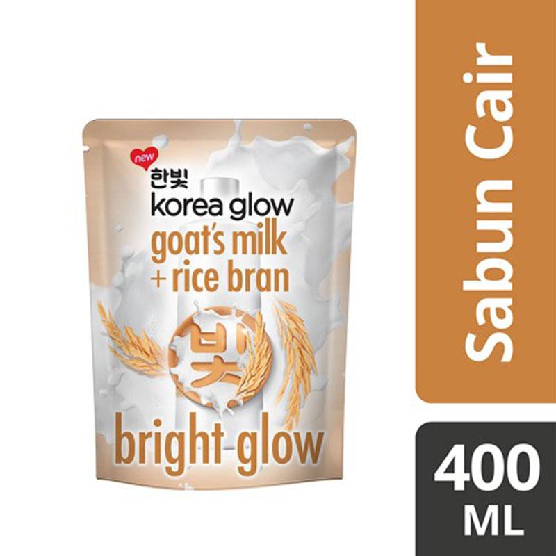 Korea Glow Body Wash Bright Glow Reffil 400 ml