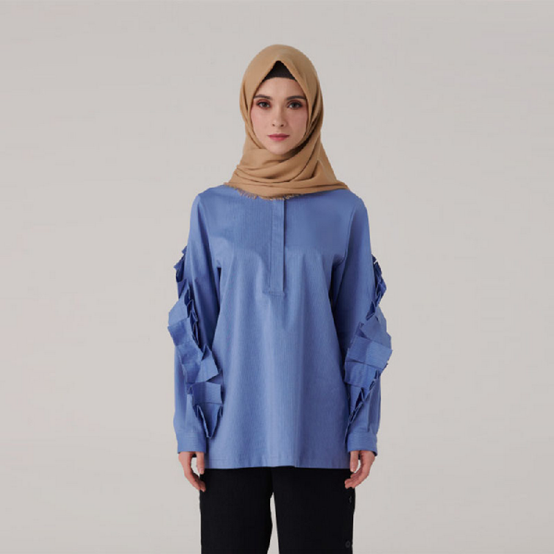 Suqma Fisher Blouse Blue