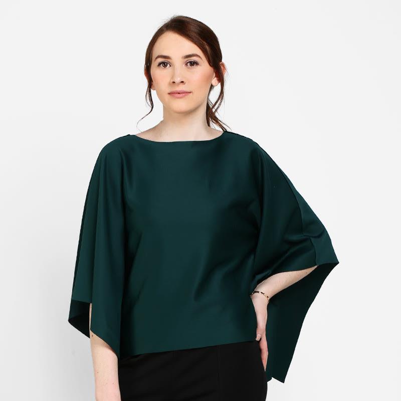 Elle Blouse Green