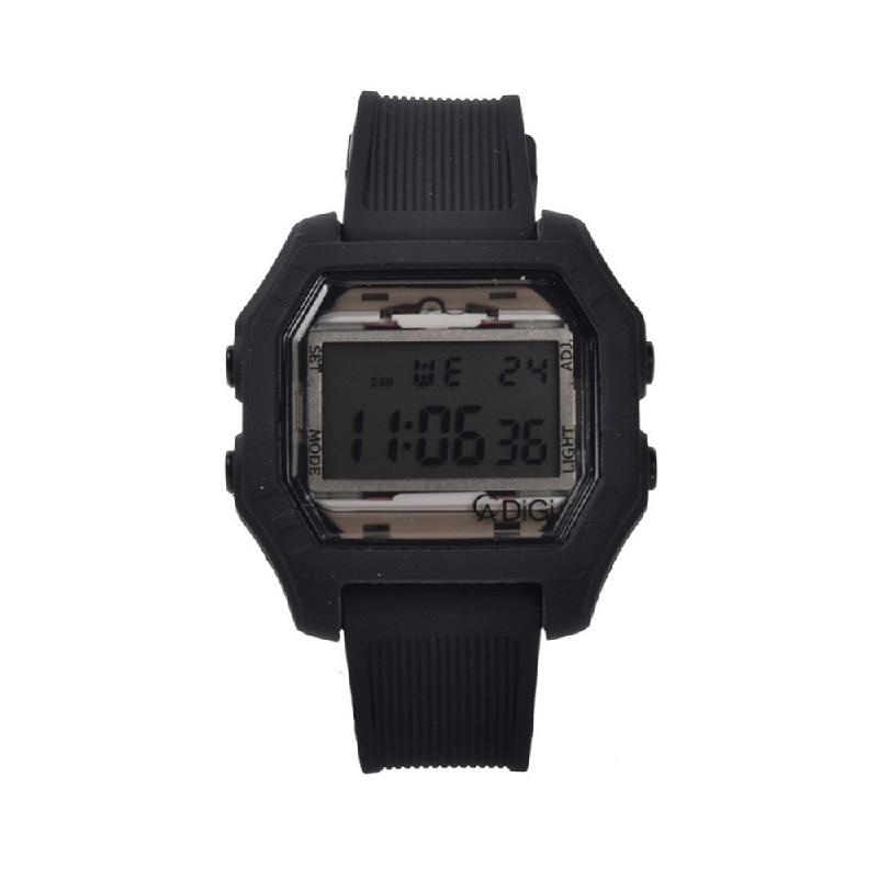 Alexandre Christie AC 9224 MERIPBA Jam Tangan Digital Rubber Strap Black