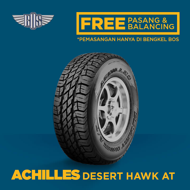 Ban Achilles Desert Hawk AT - 265-65 R17 - GRATIS PASANG DAN BALANCING