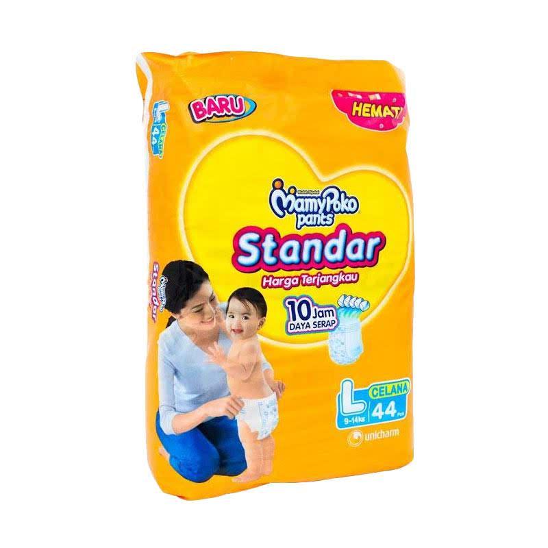 Mamypoko Diaper Pants Standar L 44S