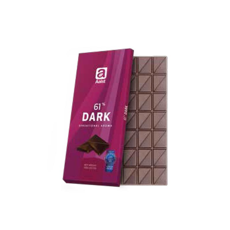 Aalst Chocolate 61% Dark Sensational Aroma 100 Gr