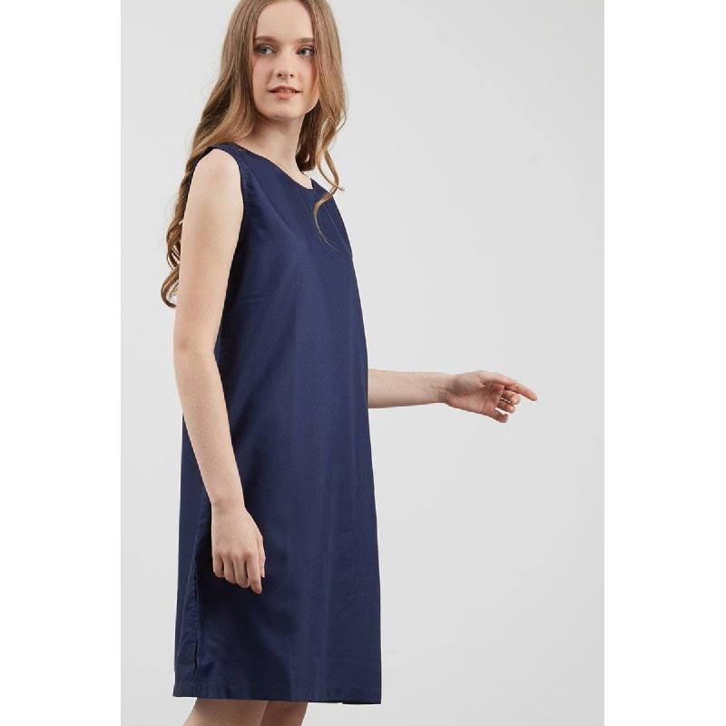 Elayna Dress Navy