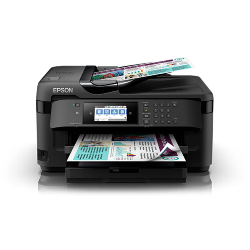 Epson WorkForce WF-7711 A3 Wi-Fi Duplex All-in-One Inkjet Printer