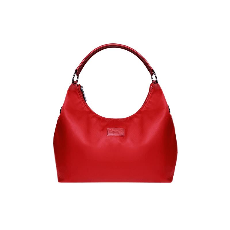 Lipault Lady Plume Hobo Bag Ruby