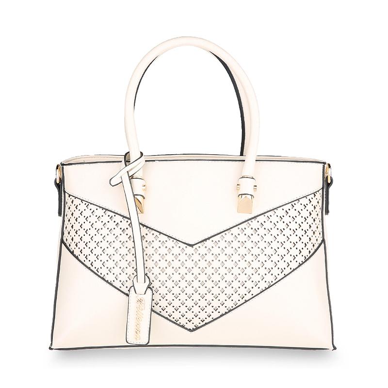 Bellezza Hand Bag 2075-38 Off White