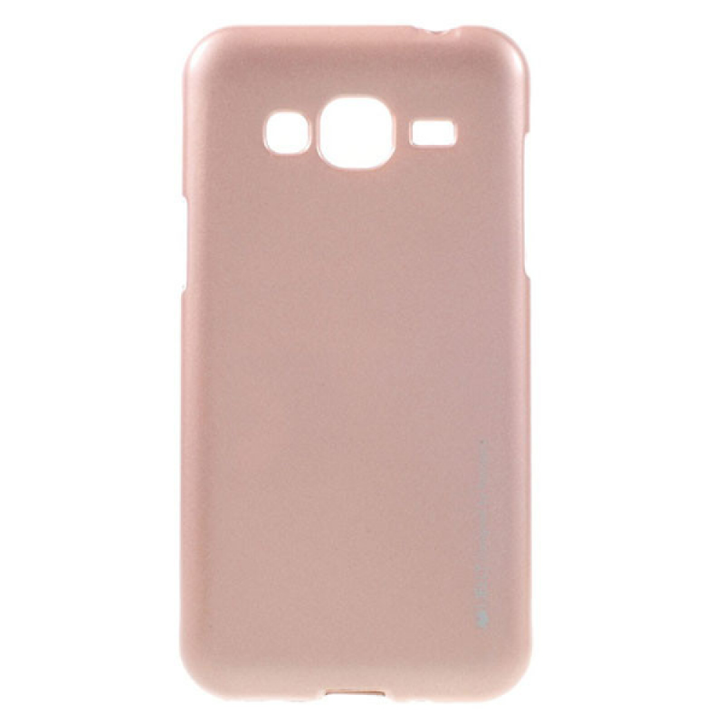 Goospery i-Jelly for Samsung Galaxy J3 - Rose Gold