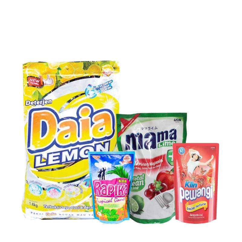 Paket Lotte Mart Rp 55.000 (Dapat 4 Produk)