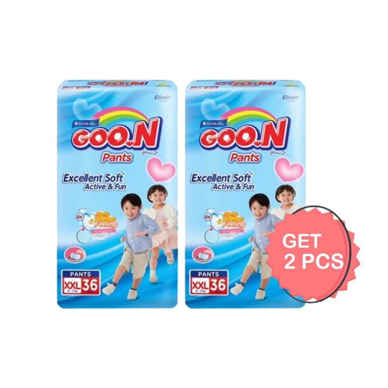 Goon Popok Celana Slim XXL 36S (Get 2)