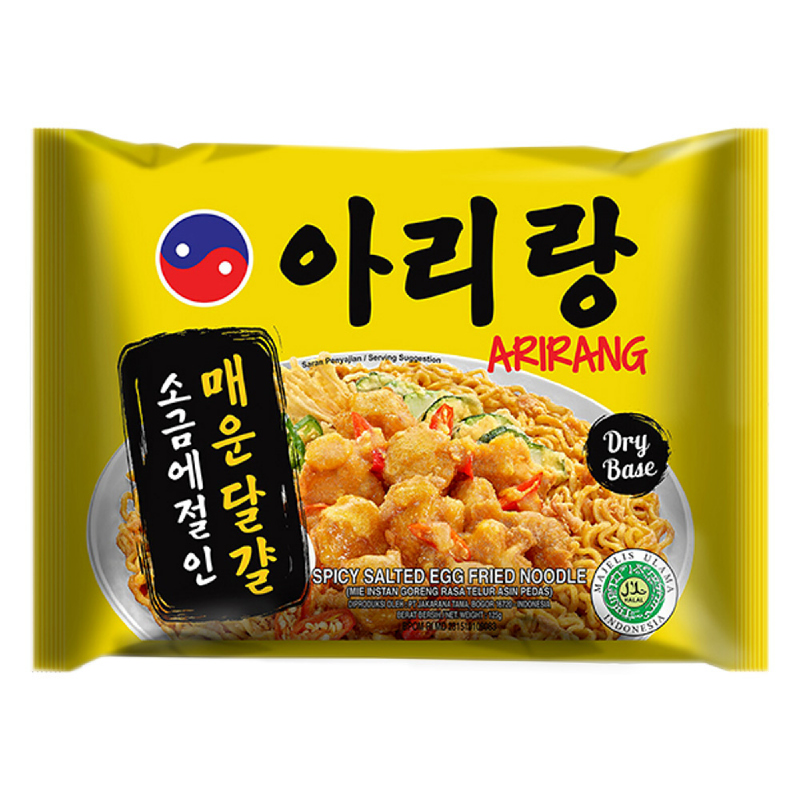 Arirang Spicy Salted Egg Fried Noodle