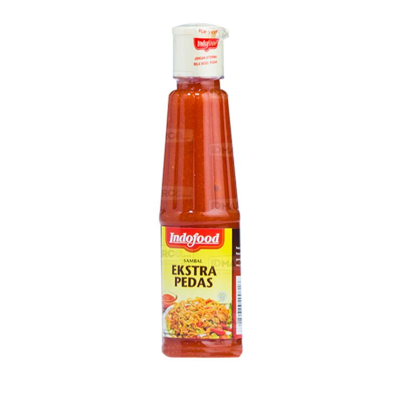 Sambal Indofood Ekstra Pedas Botol 140 ml