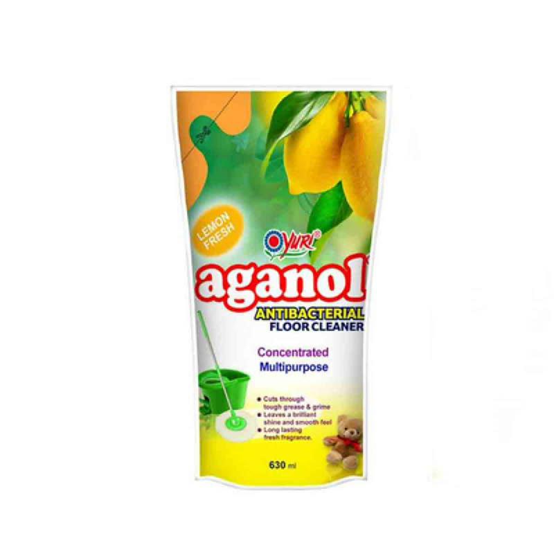 Yuri Aganol Pembersih Lantai Lemon 630Ml
