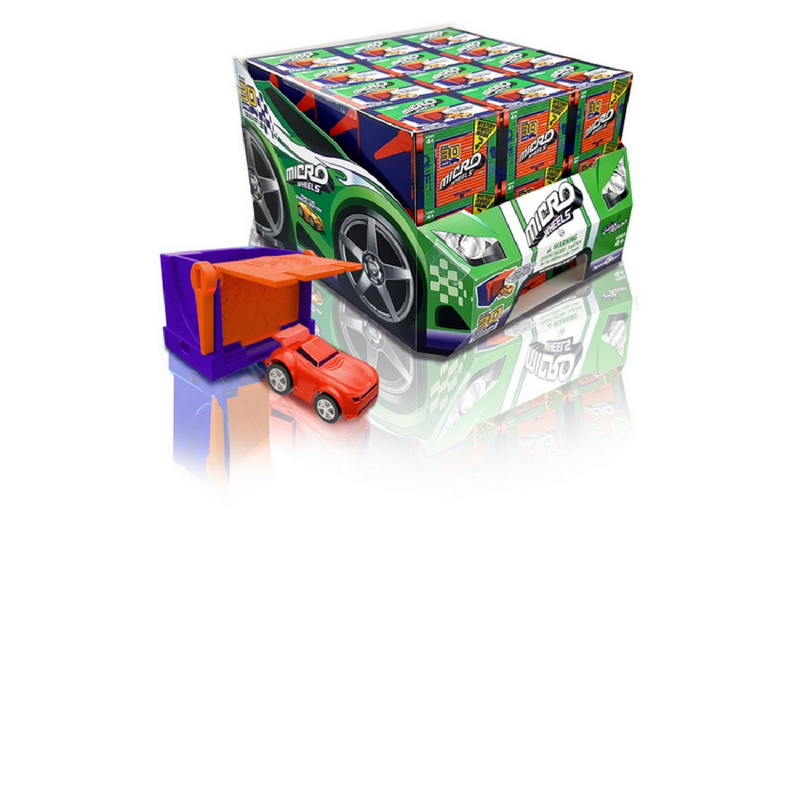 Micro Wheels Single Pack 36pc CDU 77733