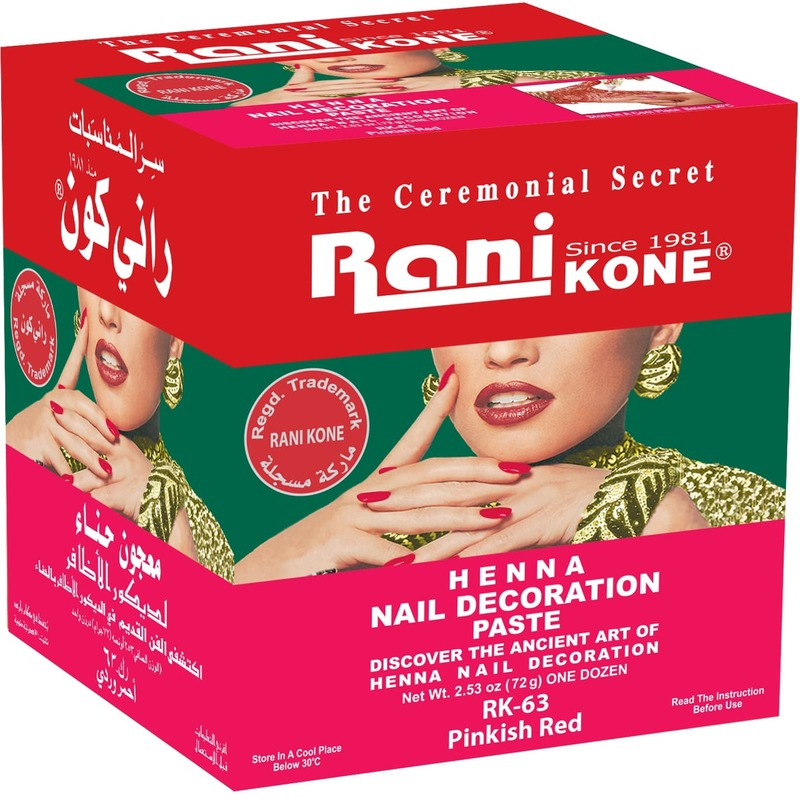 Rani Kone 63 Nail Decoration Paste Pinkish Red 72g