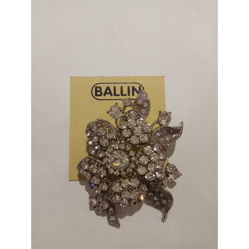 Ballin Women Brooch TM-BR62S Silver