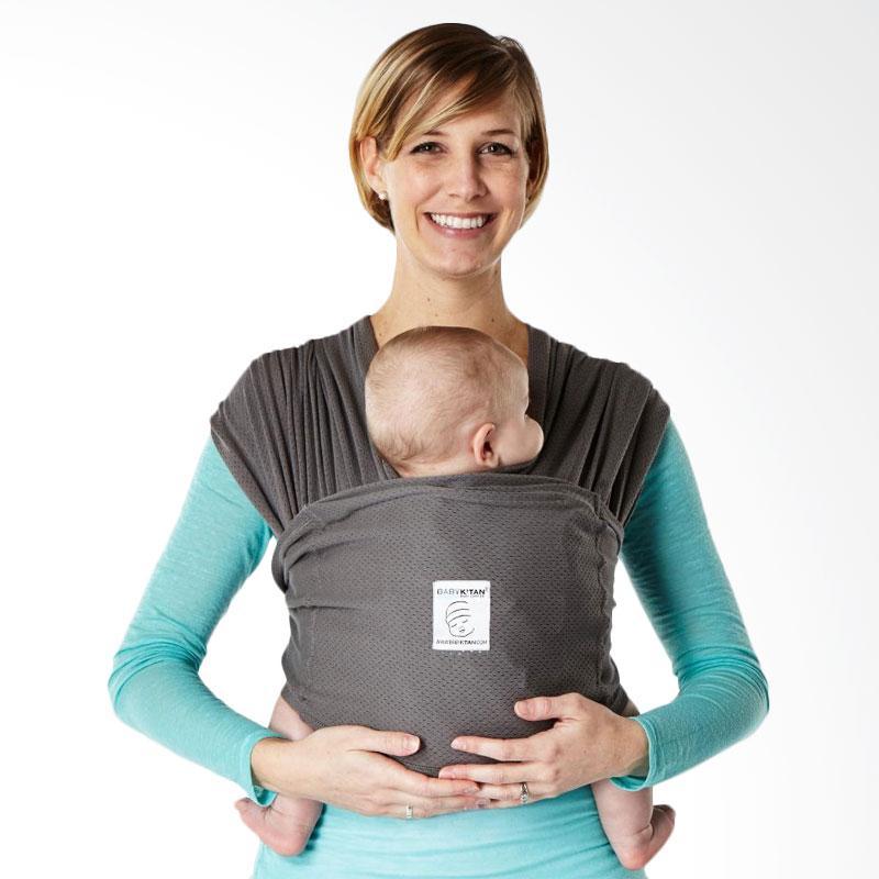 Baby K'Tan Breeze Charcoal Gendongan Bayi [Size XL]