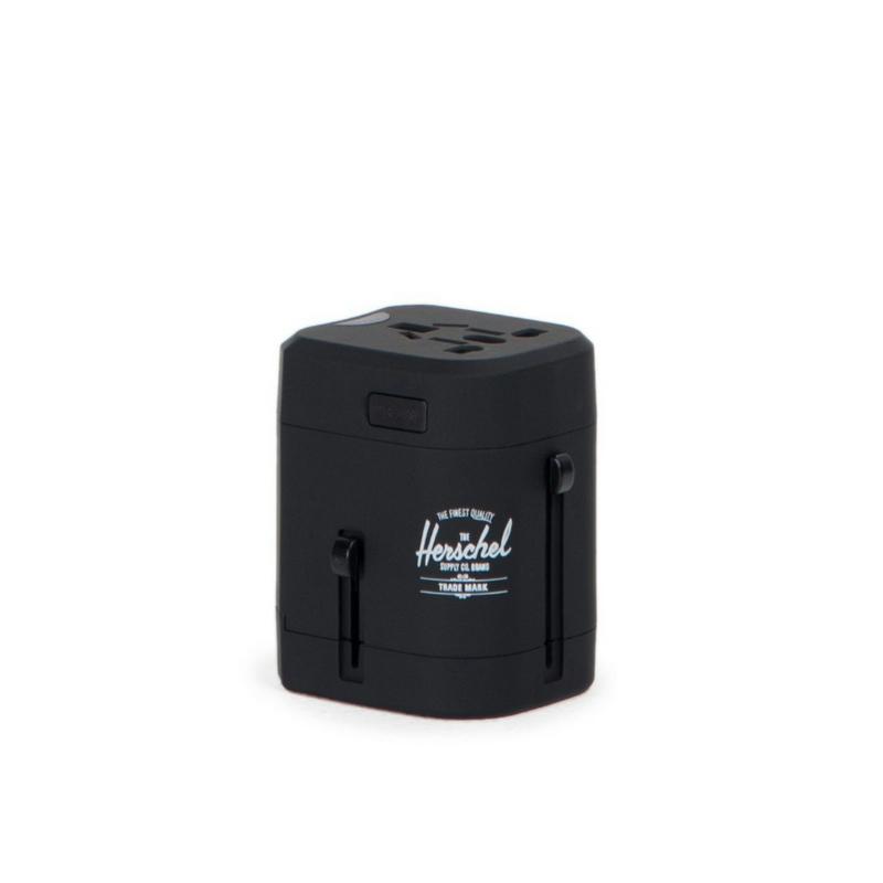 Herschel 1000217364418Y Travel Adapter Black