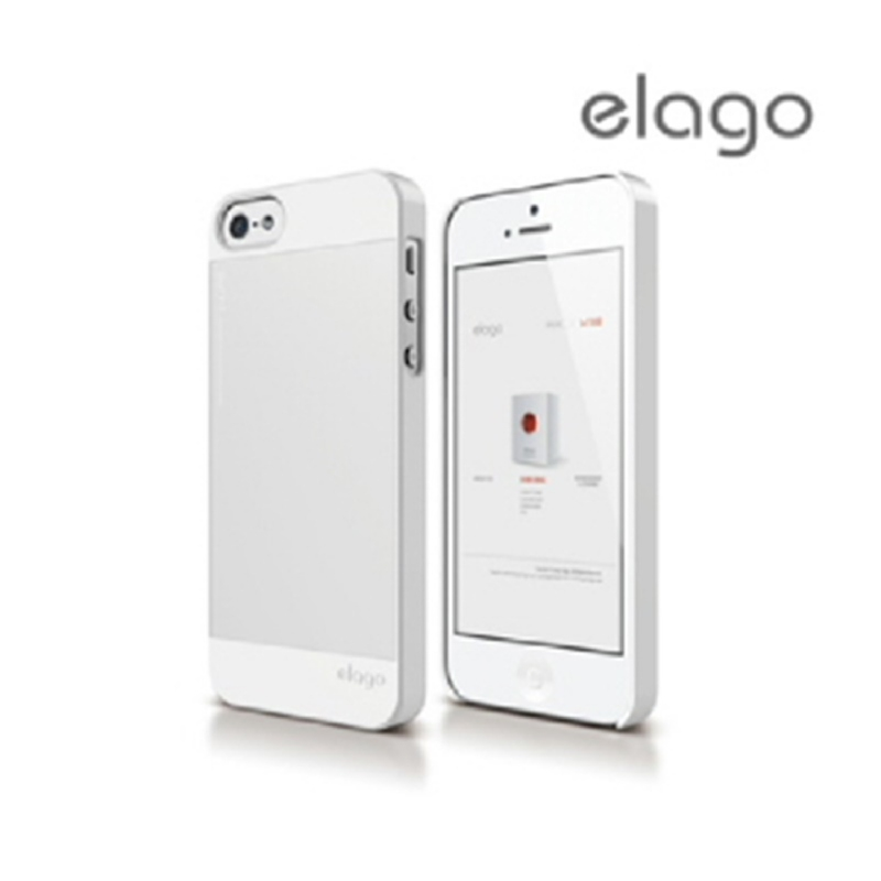 Elago Outfit Case for iPhone SE, 5, 5S - White