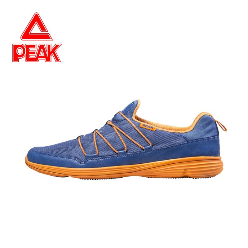 Peak Casual Shoes E43991E Blue Orange