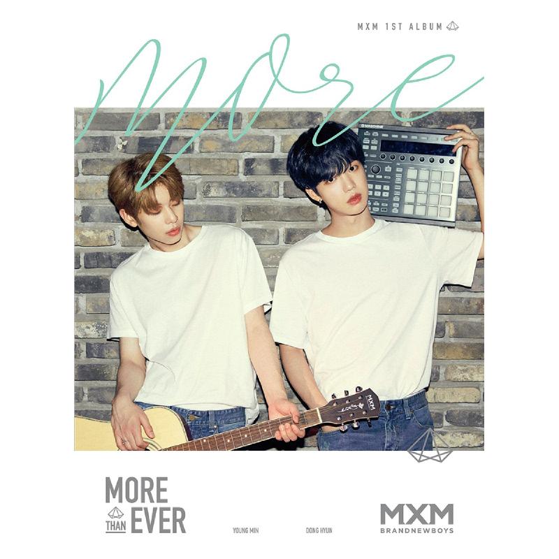 [CD] MXM (BRANDNEWBOYS) - 1st Album - More Than Ever (MORE ver.)