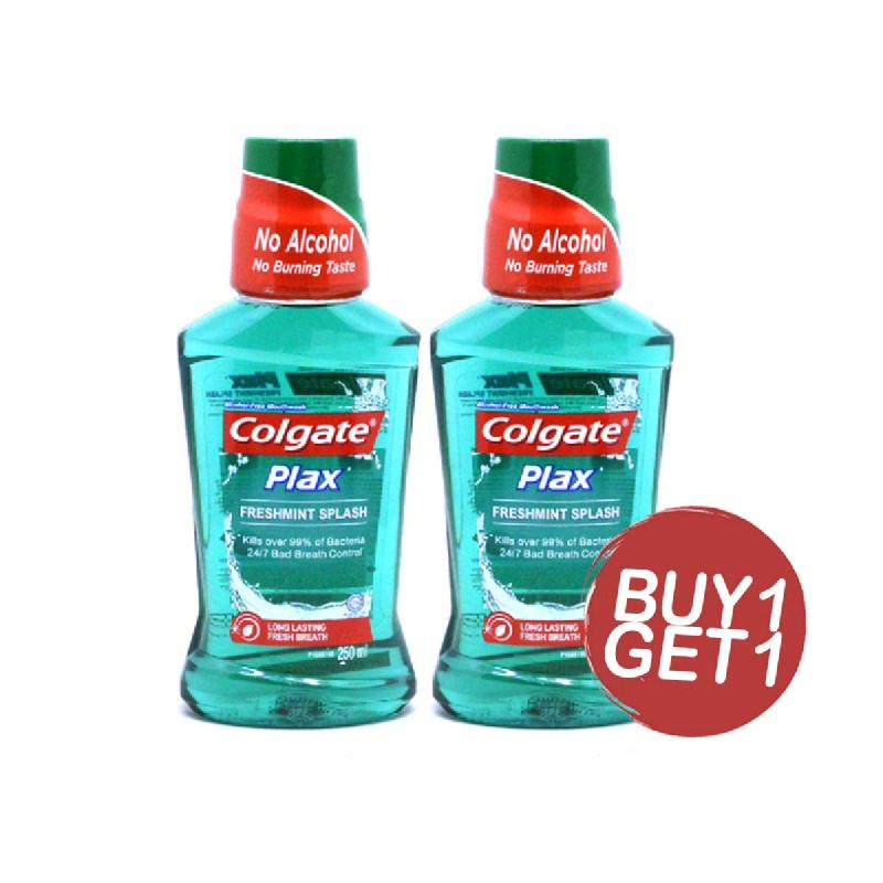 Colgate Plax Mouthwash Freshmint 250 Ml (Buy 1 Get 1)