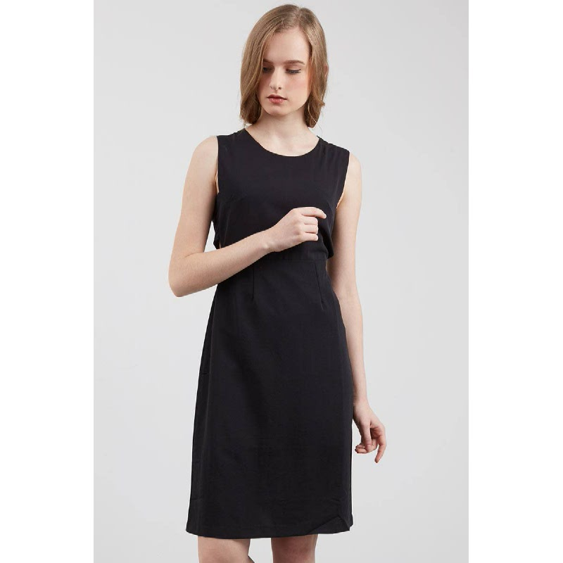 Furaca Cut Out Dress In Black