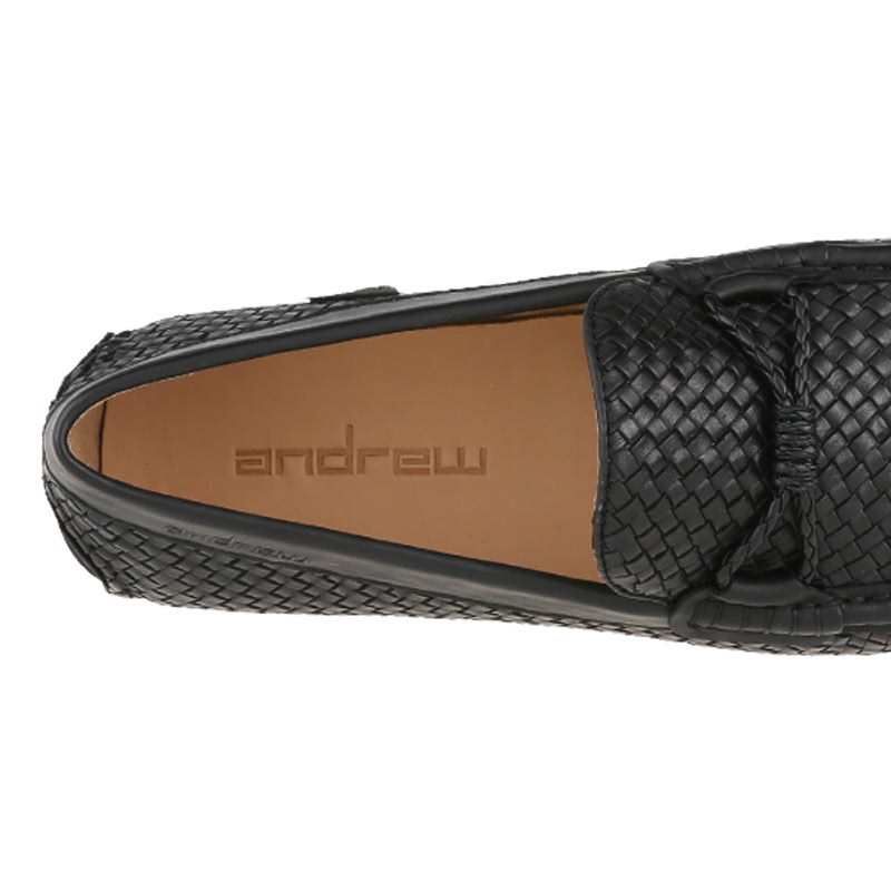 Andrew Windley Loafers Pria Hitam