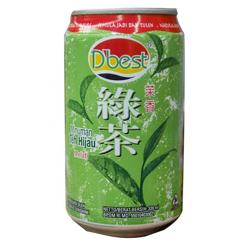 D Best Green Tea 320 Ml