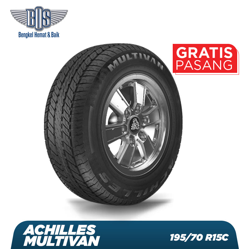 Achilles Ban Mobil  Multivan - 195-70 R15C 104-102T - GRATIS JASA PASANG DAN BALANCING