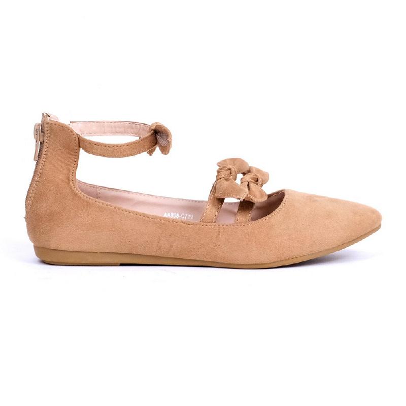 Austin Flat Shoes Kabecka Beige