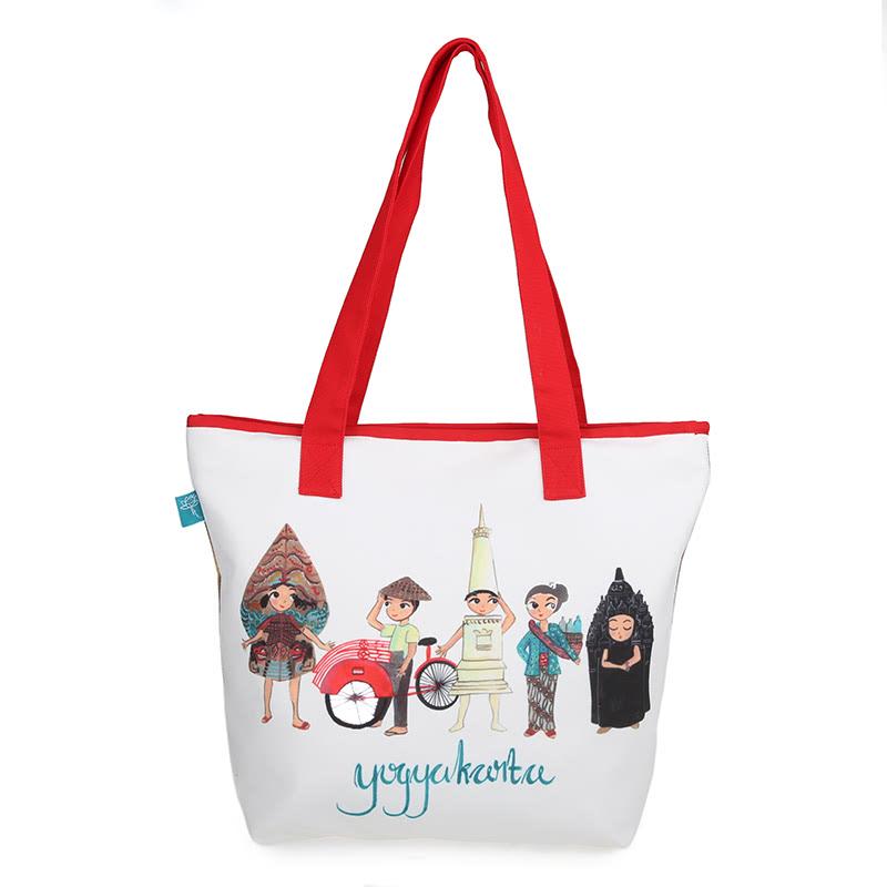 Kamalika Art Prints Tote Bag SB-Yogyakarta