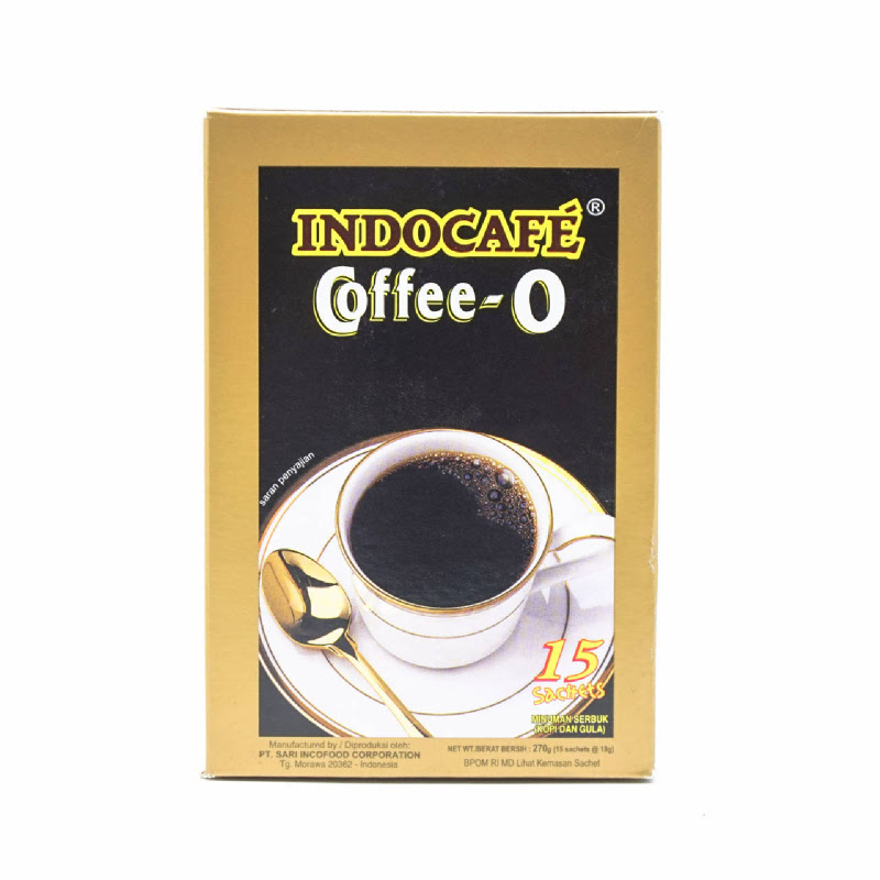 Indocafe Coffee-O 15 X 18 Gr.