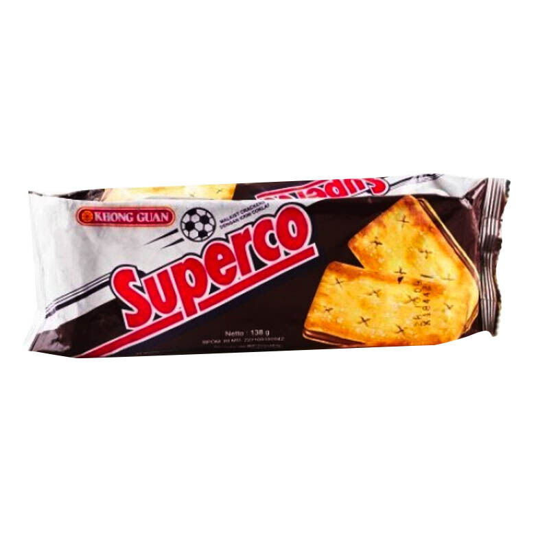 Khong Guan Superco Chocolate 138 gr