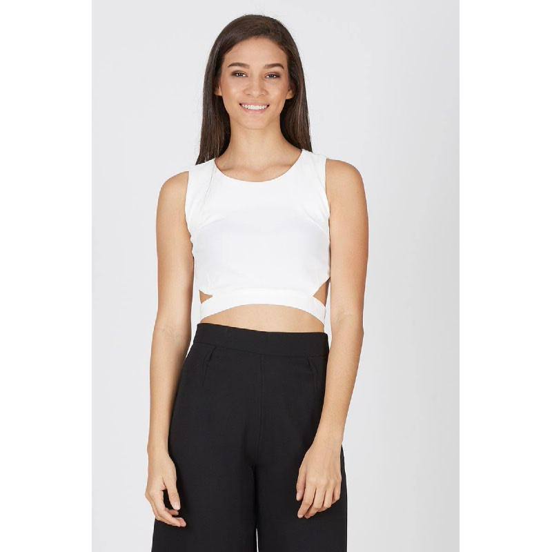 Francois Perle Top in White