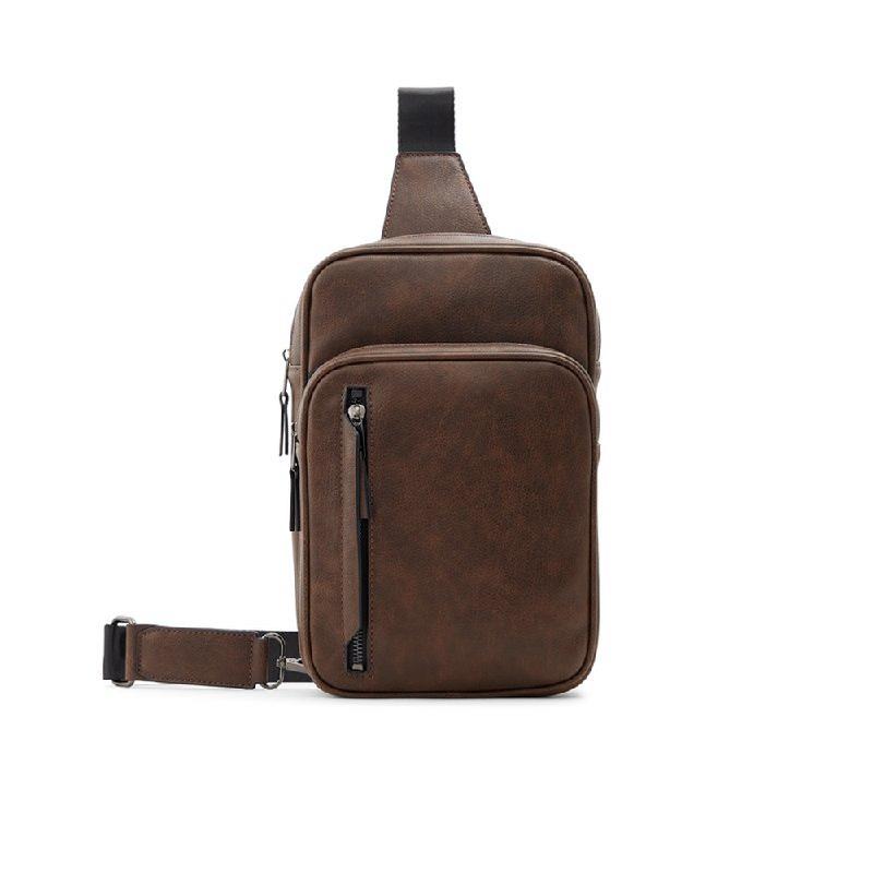 Aldo Mens Waist Bags TORPEDO-210-210 Medium Brown